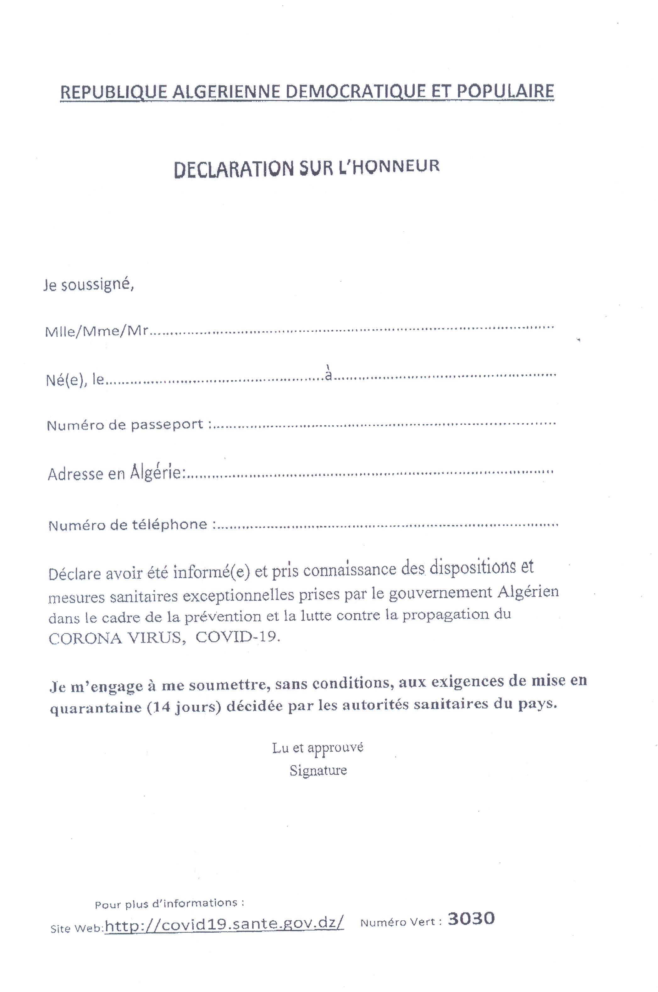 Pj communiquer declaration